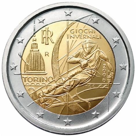 2 Euro Italy 2006 Stamps Labus