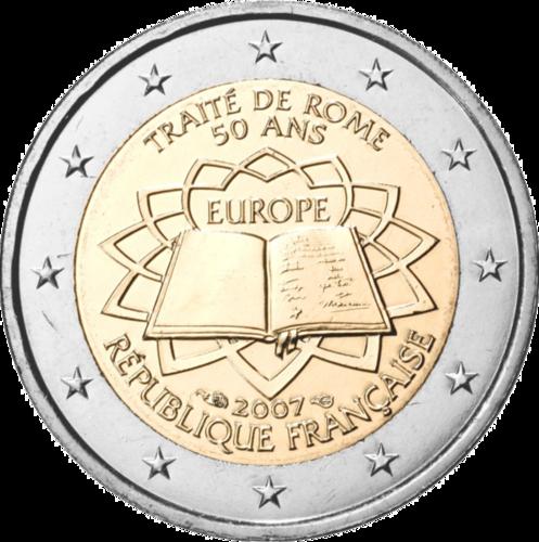 2 Euro Frankreich 2007 Briefmarken Labus