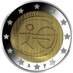 2 Euro Luxembourg 2009