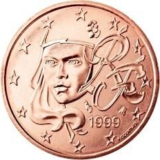 Frankreich 2 Cent Briefmarken Labus
