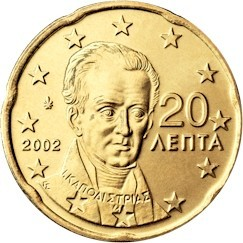 Griechenland 20 Cent Briefmarken Labus