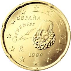 Spanien 20 Cent Briefmarken Labus