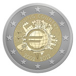 2 euro common commemorative coin 2012