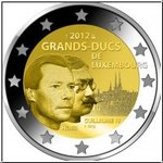 2 Euro Luxembourg 2012