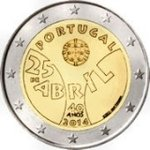 2 Euro Portugal 2014-1 Nelkenrevolution