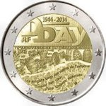 2 Euro France 2014-1 d-day