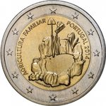 2 Euro Portugal 2014-2 family farming