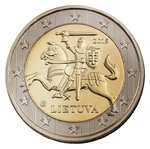 Lithuania 2 euro coin 2015