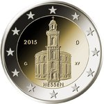 2 Euro Germany 2015 Pauls-church