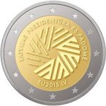 2 Euro Latvia 2015 EU Presidency