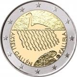2 Euro Finnland 2015 2 Akseli Gallen Kellela Briefmarken Labus
