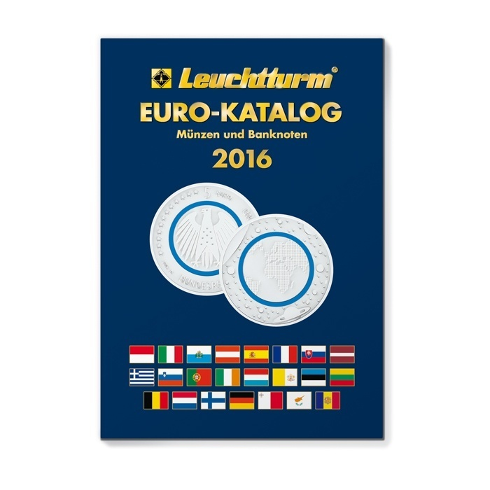 Lighthouse euro coin catalogue 2016