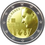 2 Euro Estonia 2016 Paul Keres