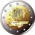 2 euro Andorra 2015-1 customs union