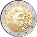 2 Euro France 2016-2 Mitterrand