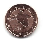 Estonia 2 cent coin 2011