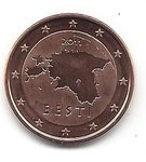 Estonia 5 cent coin 2011