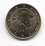 Estonia 50 cent coin 2011
