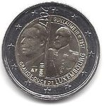 2 Euro Luxembourg 2017/2 William III
