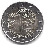 2 Euro Slowakei 2018 Republik