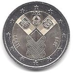 2 Euro Estonia 2018-1 independence