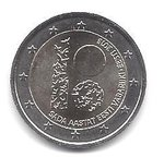 2 Euro Estonia 2018-2 republic