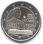 2 Euro Luxembourg 2018-1 constitution