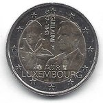 2 Euro Luxembourg 2018-2 Guillaume I