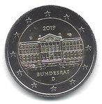 2 Euro Germany 2019-2 Bundesrat