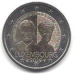 2 Euro Luxembourg 2019-1 Charlotte