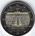 2 Euro Germany 2020-1 Brandenburg